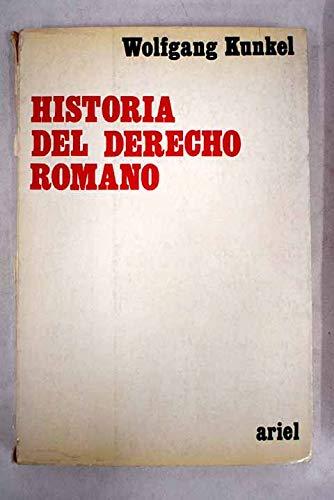 9788434406032: Historia del derecho romano