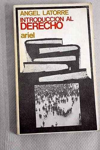 9788434406520: Introduccion al derecho (Ariel quincenal) (Spanish Edition)