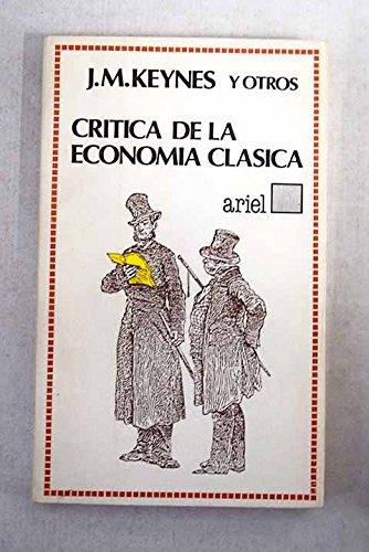 9788434406605: Critica de la economia clasica