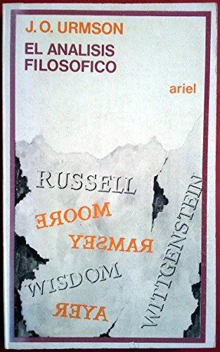 9788434407978: Analisis filosofico, el
