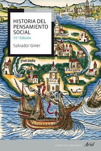 9788434409231: Historia del pensamiento social (Ariel Ciencias Sociales)