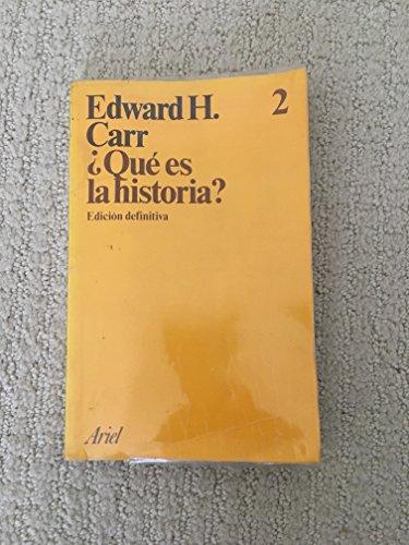 9788434410015: Que Es La Historia?