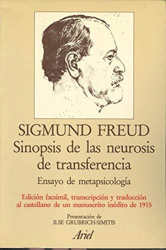 9788434410886: Sinopsis de las neurosis de transferencia