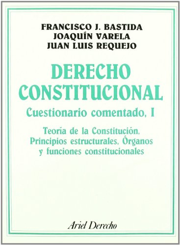 9788434415768: Derecho Constitucional: Cuestionario comentado, I (Ariel Derecho)