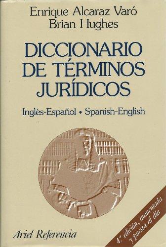 9788434415799: Diccionario De Terminos Juridicos: Ingles-Espanol Spanish-English (Ariel derecho) (Spanish and English Edition)