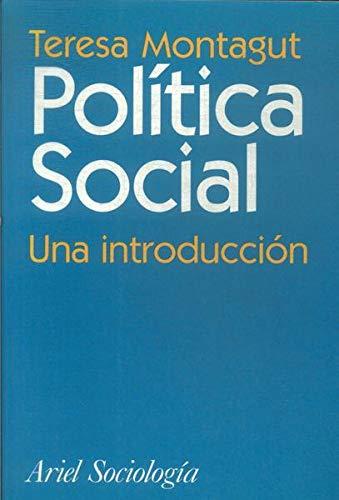 9788434416963: Política social una introducción