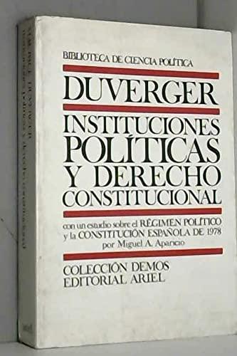 9788434417960: Instituciones Politicas Y Derecho Constitucional