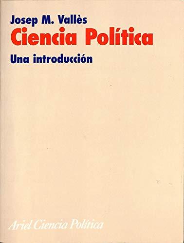 9788434418165: Ciencia Politica. Una Introduccion