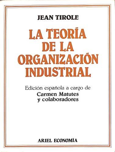 9788434420434: Teoria de la organizacion industrial
