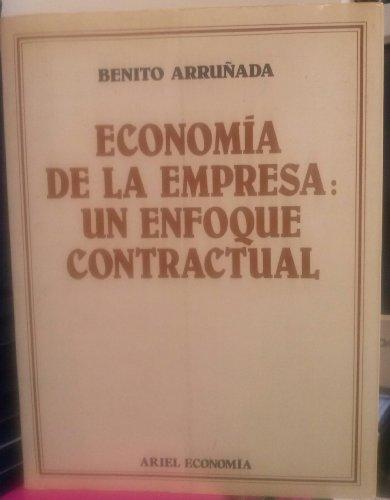 9788434420489: Economia de la empresa: un enfoque contractual