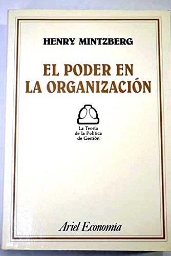 9788434420717: Poder en la organizacion, el