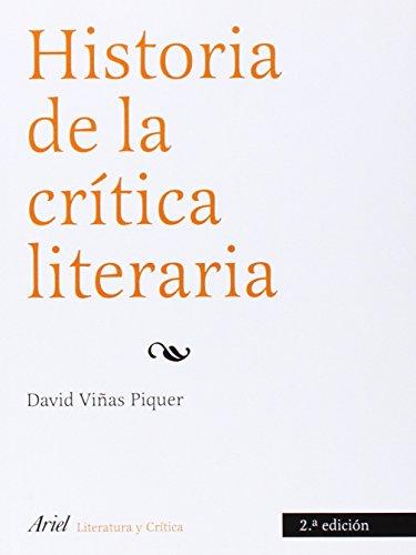 9788434425125: Historia de la critica literaria (Spanish Edition)