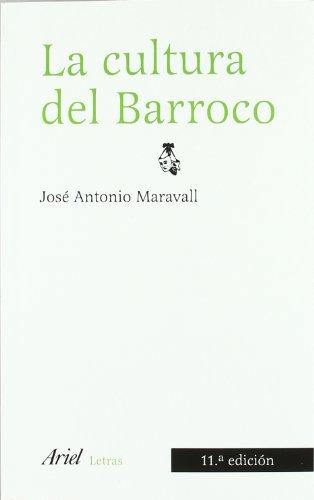 9788434425149: La Cultura del Barroco Ánalisis de una Estructura Histórica
