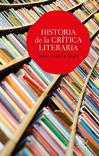 9788434425644: Historia de la crítica literaria (Ariel Letras)