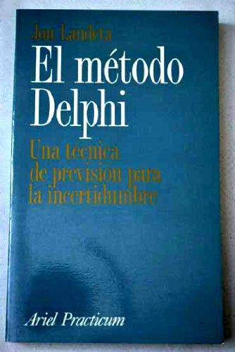 9788434428362: El metodo delphi