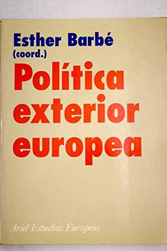 9788434431102: Política exterior europea