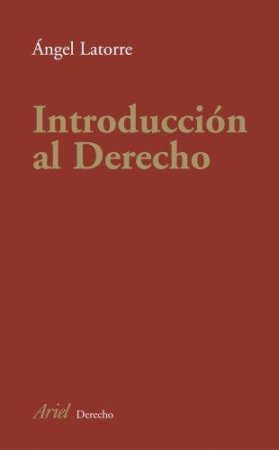 9788434432215: Introducción al Derecho (Ariel Derecho)