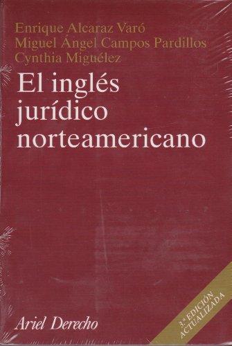 9788434432550: Ingles Juridico Norteamericano (Spanish Edition)