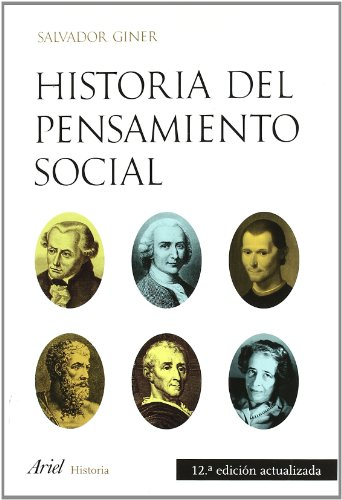 9788434434837: Historia del pensamiento social (Ariel Ciencias Políticas)