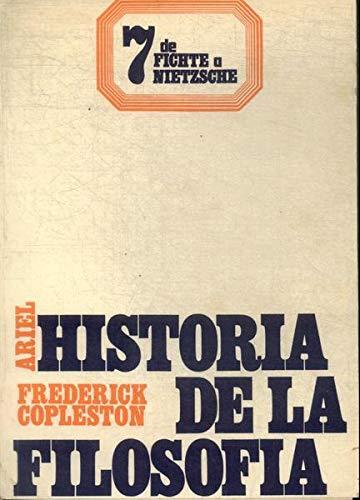 9788434439412: Historia de la filosofia vol.VII