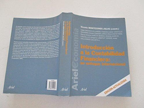 9788434445239: Introducción a la contabilidad financiera un enfoque internacional