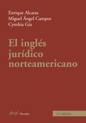 9788434456679: El Ingles Juridico Norteamericano (Spanish Edition)