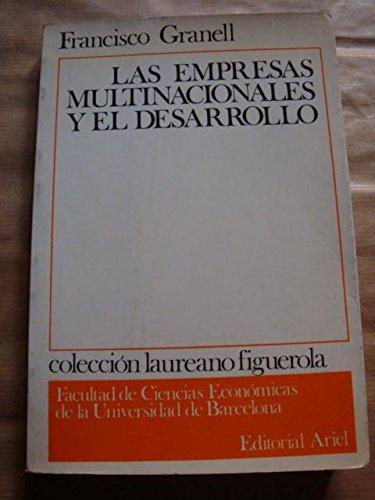 9788434460614: Las empresas multinacionales y el desarrollo (Colección