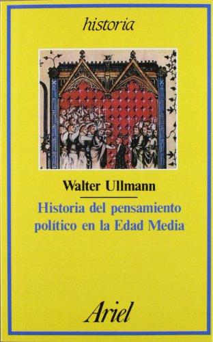 9788434465398: Historia del Pensamiento Politico En La Edad Media (Spanish Edition)