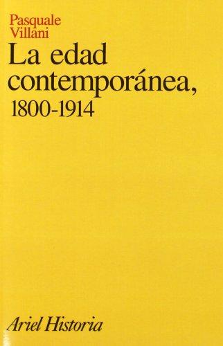 9788434465817: La edad contemporánea, 1800-1914 (Ariel Historia)