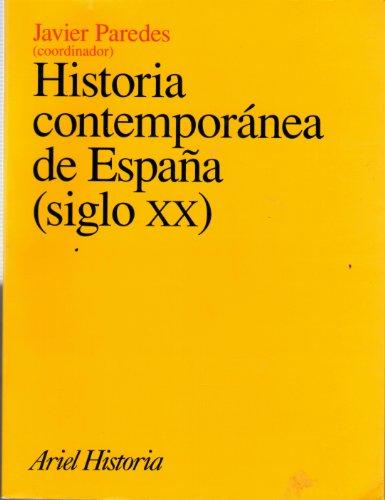 9788434466043: Historia contemporánea de España (siglo XX) (Ariel Historia)