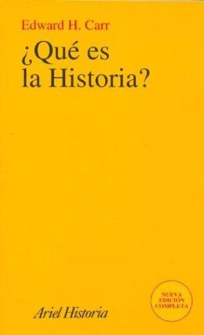 9788434466999: Que Es La Historia? (Spanish Edition)