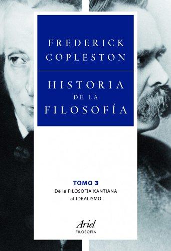Historia de la filosofía III.: Copleston, Frederick.