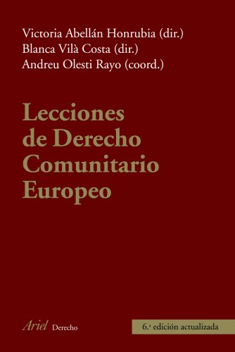 9788434469655: Lecciones de Derecho Comunitar