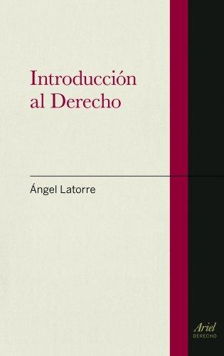 9788434470637: Introducción al Derecho (Ariel Derecho)