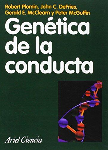 9788434480339: Genética de la conducta