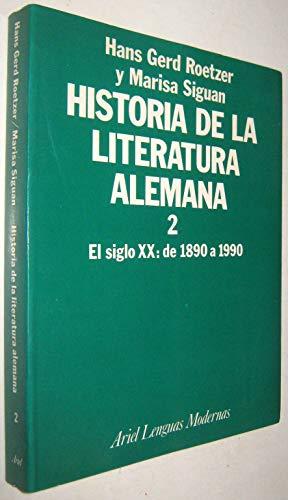 9788434481107: Historia de la literatura alemana II