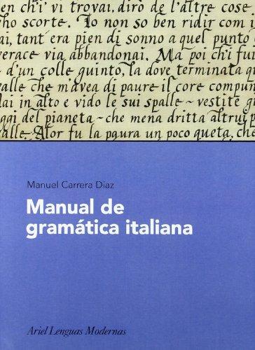 9788434481190: Manual de Gramatica Italiana (Spanish Edition)