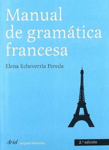 9788434481237: Manual de gramática francesa (Ariel Letras)