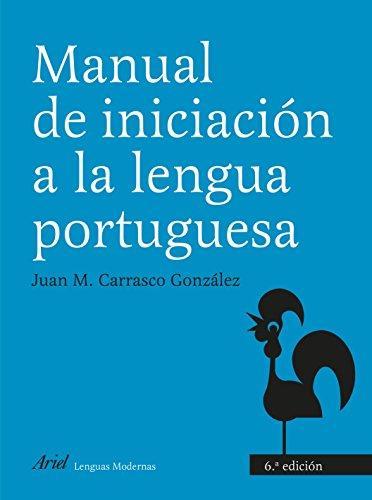 9788434481244: Manual de iniciación a la lengua portuguesa