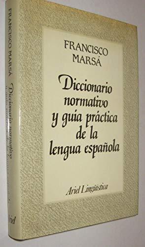 9788434482005: Diccionario normativo y guía práctica de la lengua española (Ariel lingüística)