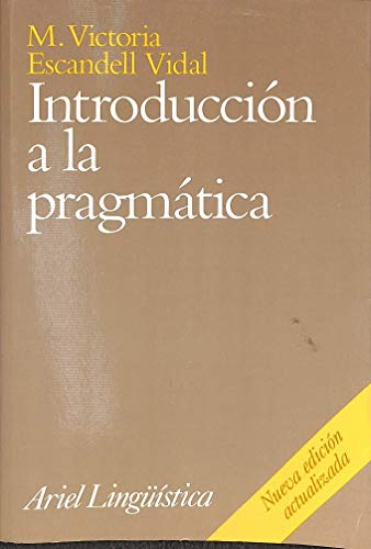9788434482203: Introduccion a la pragmatica