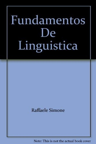 9788434482494: Fundamentos de lingüística