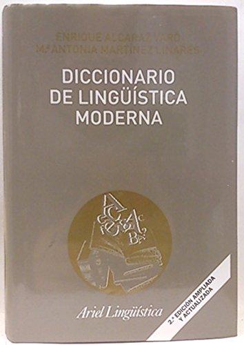 9788434482609: Diccionario de lingüística moderna (ZAPPC2)