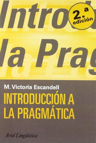 9788434482678: Introducción a la pragmática (Ariel Letras)