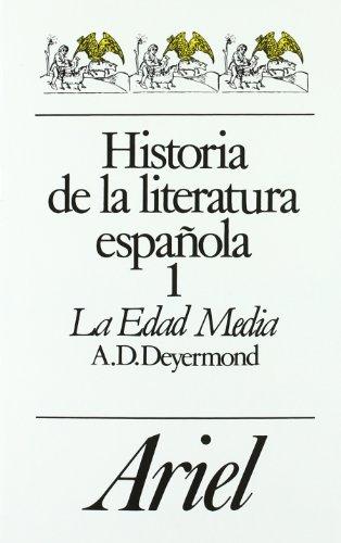 9788434483057: Historia de la literatura española, 1. La Edad Media (Ariel Letras)