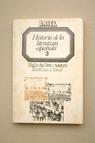 9788434483064: Historia de la literatura española. tomo 3: siglo de oro teatro (Letras e ideas)