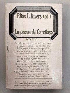 La Poesia de Garcilaso: Ensayos Criticos: n/a