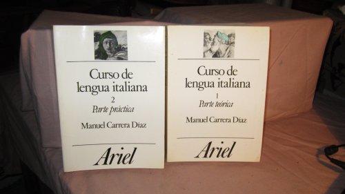 CURSO DE LENGUA ITALIANA; VOL. 1, PARTE TEORICA: Diaz, Manuel Carrera