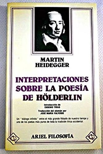 9788434487017: Interpretaciones sobre la poesía de Hölderlin