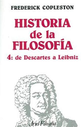 9788434487246: Historia de la filosofía, IV. De Descartes a Leibniz (Ariel Filosofia)